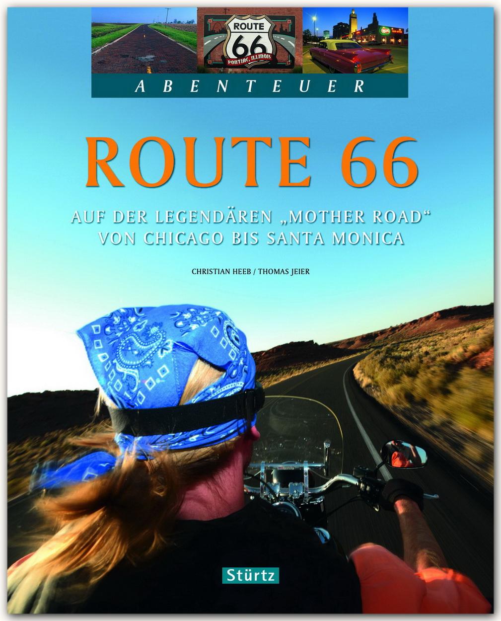 route 66 auf der legend ren mother road von chicago. Black Bedroom Furniture Sets. Home Design Ideas